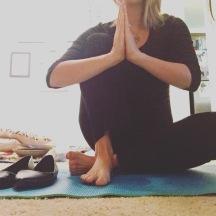 6am Yoga flow before work.
